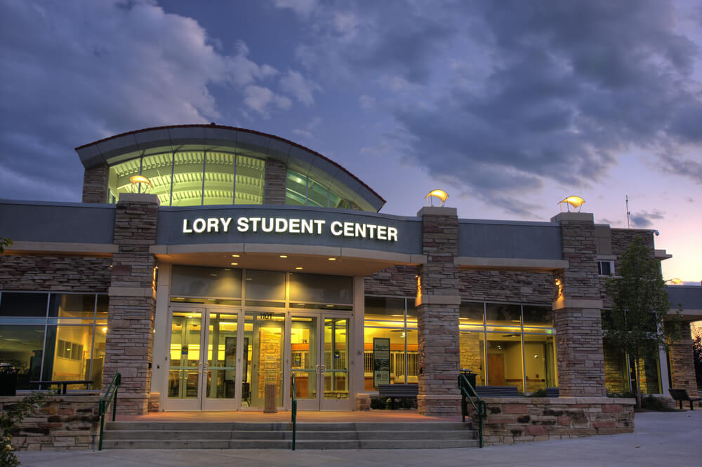lory student center at colorado state university